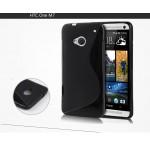 Силиконовый S чехол для HTC One (М7) Dual SIM