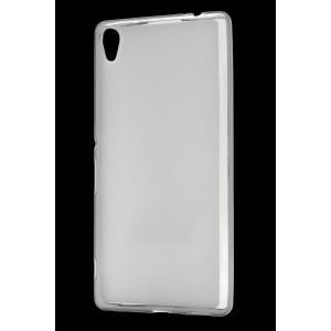 Силиконовый матовый полупрозрачный чехол для Sony Xperia XA Ultra