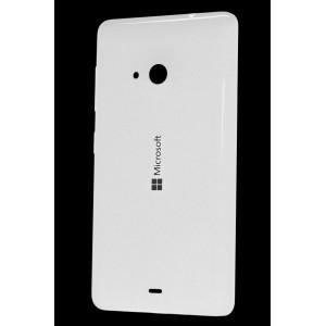 Оригинальный встраиваемый пластиковый матовый непрозрачный чехол для Microsoft Lumia 535