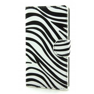 Дизайнерский чехол портмоне подставка с защелкой и полноповерхностным принтом для Samsung Galaxy Core 2