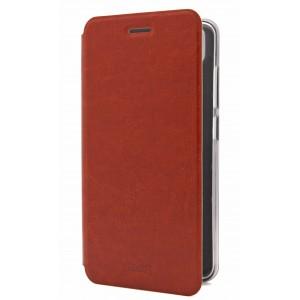 Винтажный чехол горизонтальная книжка подставка на силиконовой основе для Asus ZenFone 3 Zoom Коричневый