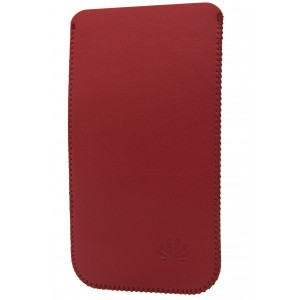 Кожаный мешок для Huawei Ascend P7 Красный
