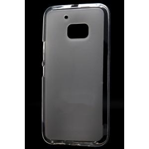Силиконовый матовый полупрозрачный чехол для HTC 10