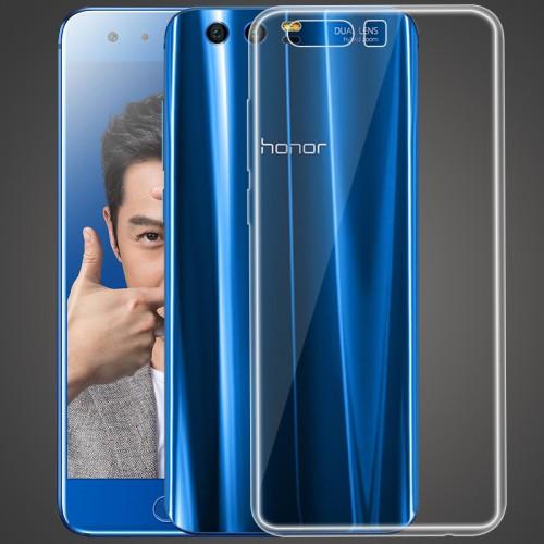 Силиконовый глянцевый транспарентный чехол для Huawei Honor 9