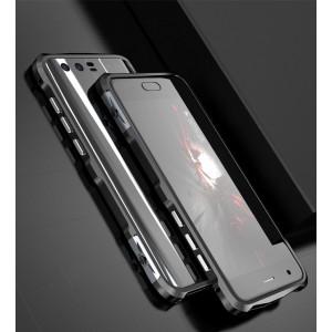 Металлический округлый бампер на пряжке для Huawei Honor 9