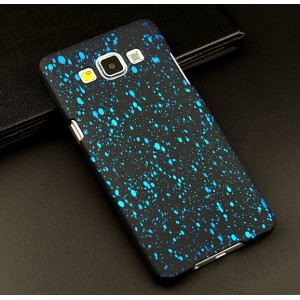 Пластиковый матовый дизайнерский чехол с голографическим принтом Звезды для Samsung Galaxy A5
