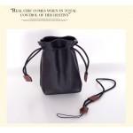 Кожаный чехол-мешок с затяжками для Sony Cyber-shot DSC-RX100/m2/m3