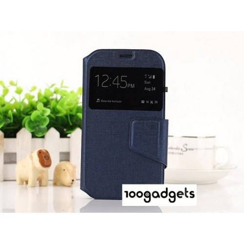 Универсальный (на силиконовой основе) чехол флип с магнитной застежкой для телефона 4.5 дюймов