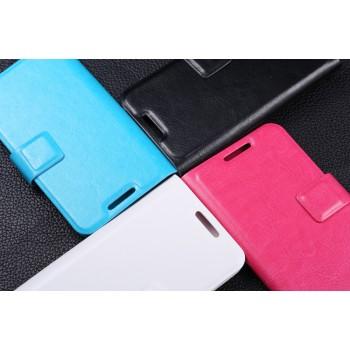 Универсальный (клеевой) чехол флип с магнитной застежкой для телефонов 4.3-4.5 дюймов