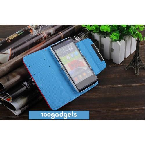 Универсальный (на зажимах) чехол флип с магнитной застежкой для телефонов 3.5-4.0 дюймов