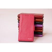 Чехол портмоне подставка со слотом для карт для Acer Liquid Jade Розовый