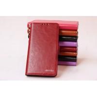 Чехол портмоне подставка со слотом для карт для Acer Liquid Jade Красный