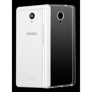 Силиконовый транспарентный чехол для Meizu M5 Note