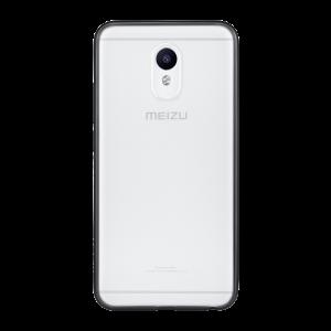 Оригинальный силиконовый матовый полупрозрачный чехол для Meizu M5 Note