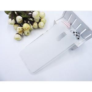 Силиконовый матовый полупрозрачный чехол для Huawei Nova 2i Белый