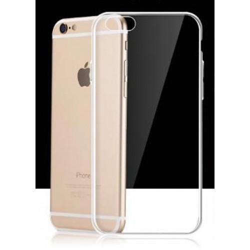 Силиконовый глянцевый транспарентный чехол для Iphone 7/8