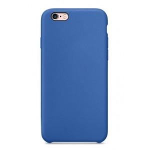 Пластиковый непрозрачный матовый чехол для Iphone 7/8 Синий