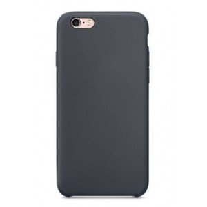 Пластиковый непрозрачный матовый чехол для Iphone 7/8 Черный