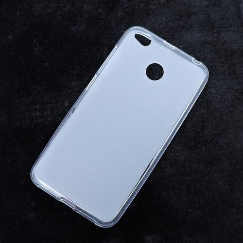 Силиконовый матовый полупрозрачный чехол для Xiaomi RedMi 4X