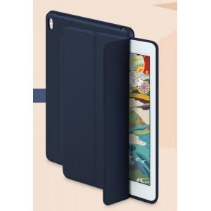 Сегментарный чехол книжка подставка на непрозрачной основе для Ipad Pro 10.5 Синий
