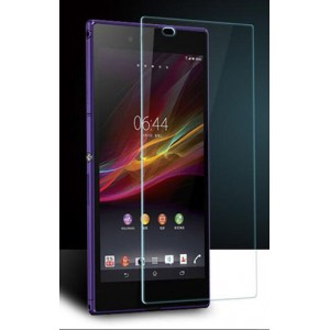 Ультратонкое износоустойчивое сколостойкое олеофобное защитное стекло-пленка Sony Xperia Z Ultra