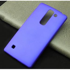 Пластиковый матовый непрозрачный чехол для LG Spirit