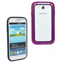 Силиконовый бампер для Samsung Galaxy Grand Duos (i9082) Фиолетовый