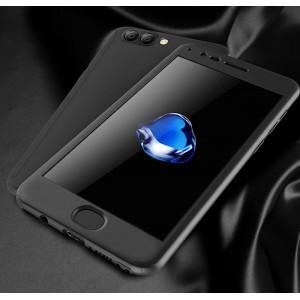 Пластиковый непрозрачный матовый сборный чехол с улучшенной защитой элементов корпуса для Huawei Honor View 10