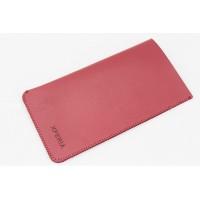 Чехол кожаный мешок для Sony Xperia Z3 Красный