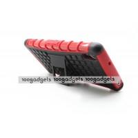 Силиконовый чехол экстрим защита для Sony Xperia Z2 Красный