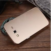 Металлический сверхлегкий чехол для Samsung Galaxy Grand 2 Duos Бежевый