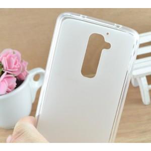 Силиконовый матовый полупрозрачный чехол для LG Optimus G2