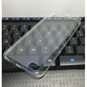 Силиконовый глянцевый транспарентный чехол для Xiaomi MI5
