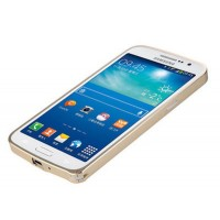 Ультратонкий бампер для Samsung Galaxy Grand 2 Duos Бежевый