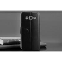 Чехол флип с активным окном вызова для Samsung Galaxy Grand 2 Duos Черный