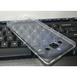 Силиконовый глянцевый транспарентный чехол для Samsung Galaxy A5