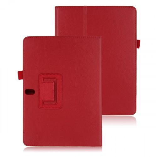 Чехол подставка серия Full Cover для Samsung Galaxy Note 10.1 2014 Edition Красный