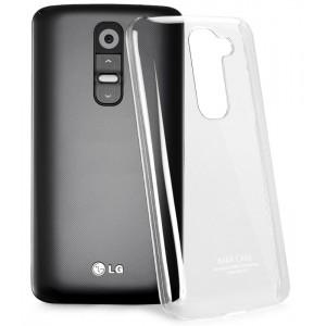 Транспарентный пластиковый чехол для LG Optimus G2 mini