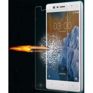Ультратонкое износоустойчивое сколостойкое олеофобное защитное стекло-пленка для Nokia 3