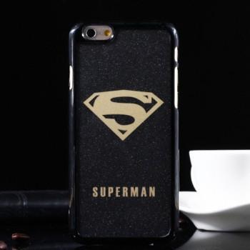 Пластиковый матовый дизайнерский чехол с принтом Marvel для Iphone 6