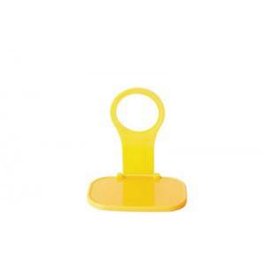 Складная универсальная пластиковая подставка для зарядки гаджетов Желтый