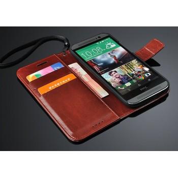 Чехол портмоне-подставка для HTC One (M8) серия Business