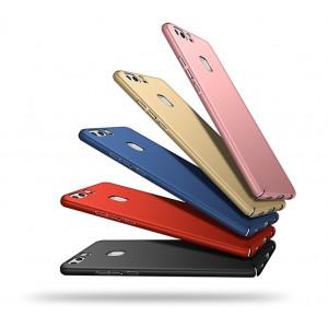 Пластиковый непрозрачный матовый чехол с улучшенной защитой элементов корпуса для Huawei P9