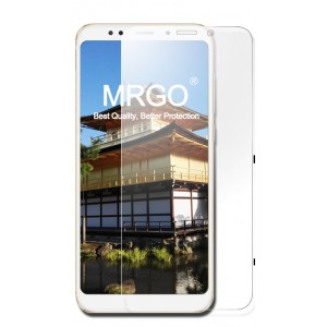 Ультратонкое износоустойчивое сколостойкое олеофобное защитное стекло-пленка для Xiaomi RedMi 5 Plus