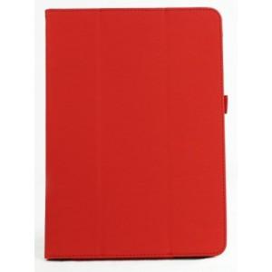 Чехол подставка сегментарный с рамочной защитой для Asus MEMO PAD 10 me102a Красный