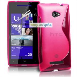 Силиконовый S чехол для HTC Desire 200