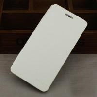 Тонкий чехол флип на пластиковой основе для Lenovo A536 Белый