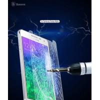 Ультратонкое износоустойчивое сколостойкое олеофобное защитное стекло-пленка для Samsung Galaxy Alpha