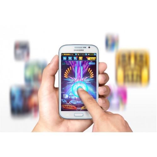 Ультратонкое износоустойчивое сколостойкое олеофобное защитное стекло-пленка для Samsung Galaxy Grand Neo