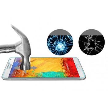 Ультратонкое износоустойчивое сколостойкое олеофобное защитное стекло-пленка для Samsung Galaxy Note 4